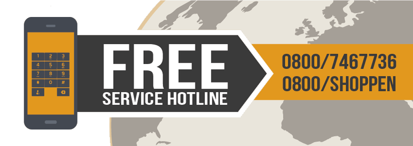 Free Service Hotline | underwear-shopping.de