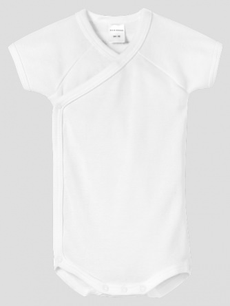 Wrapover Body 1/2 Schiesser Baby Basics