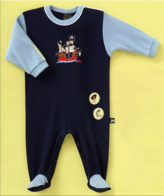 Baby Overall Schiesser Capt'n Sharky 2