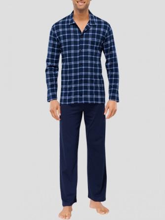 schiesser herren schlafanzug lang 2 frei haus 20 rabatt. Black Bedroom Furniture Sets. Home Design Ideas