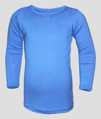 mäh!merino Functional Kids Shirt 1/1 light blue