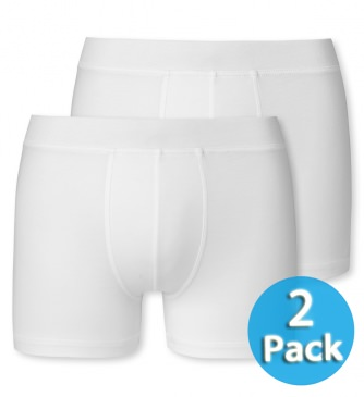2er Pack Jungen Hip-Shorts Retro Schiesser 95/5