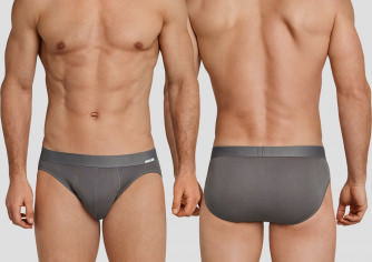 SCHIESSER Rio-Slip taupe Long Life Cool