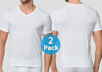 Shirt 1/2 Schiesser Authentic 2er-Pack