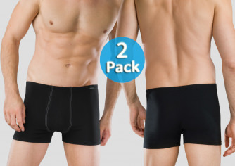 Shorts Essential 2er Pack - schwarz
