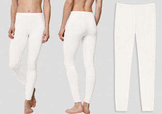 Women Leggings SCHIESSER Personal Fit - white