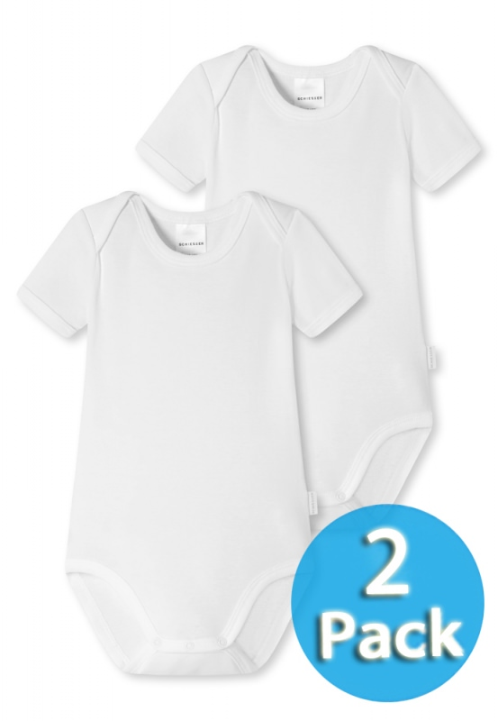 2-Pack Body 1/2 Schiesser Baby Basics