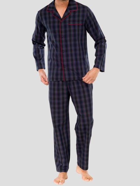 meet 1c92c 054b6 Schiesser Men Pyjama Long No. 19 with discount & free delivery