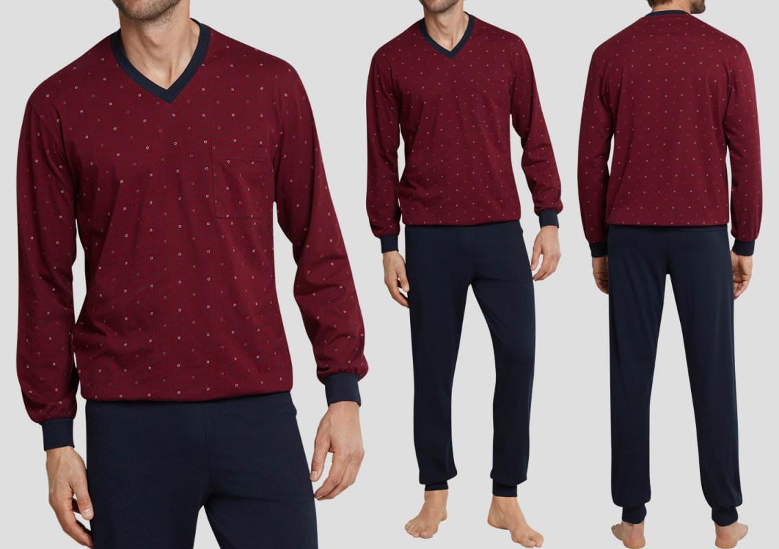 Seidensticker Herren Schlafanzughose lang