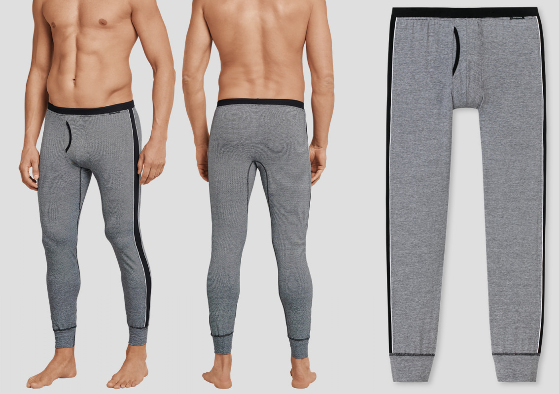 Long underpants SCHIESSER City Life for Men - anthracite