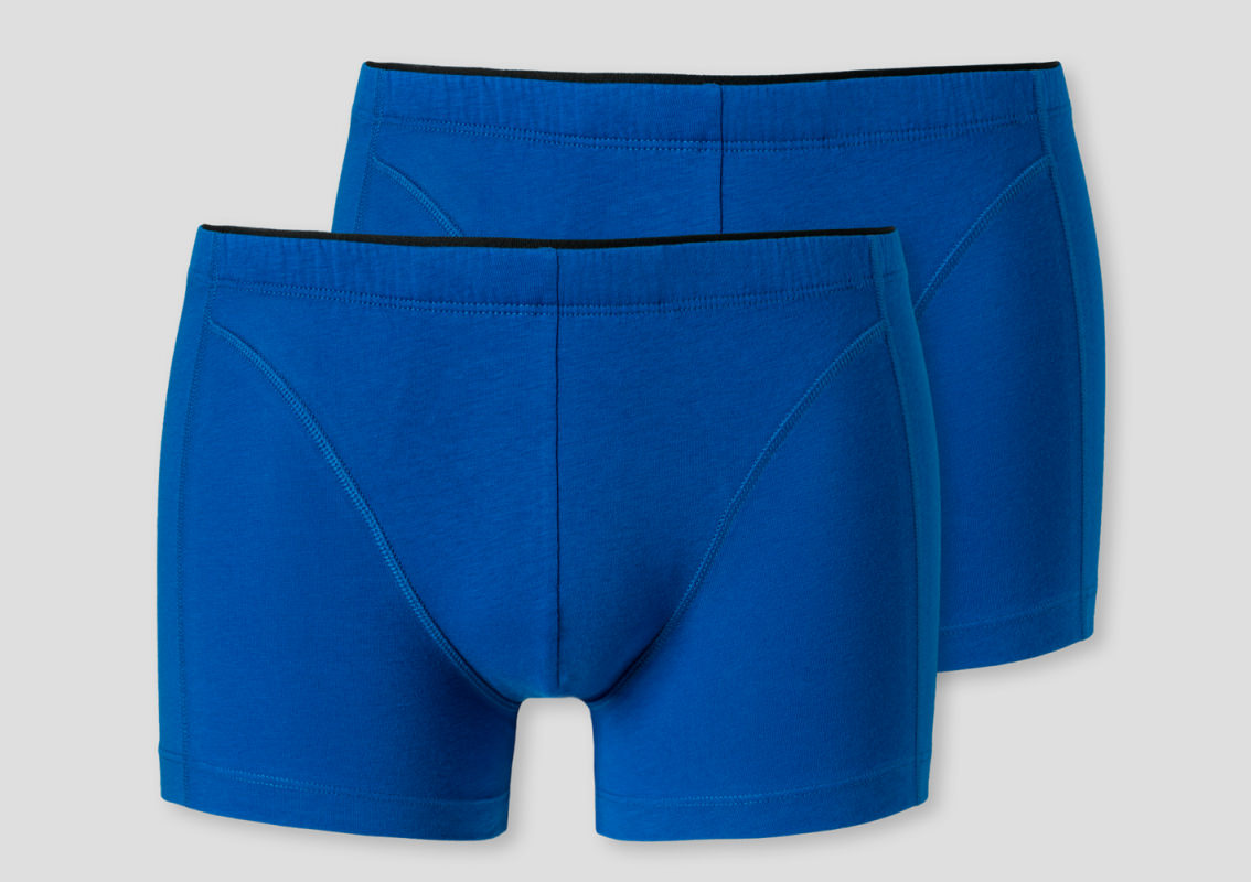 2-Pack Men's Cyclist Boxer Biefs Schiesser XPRESS - blue