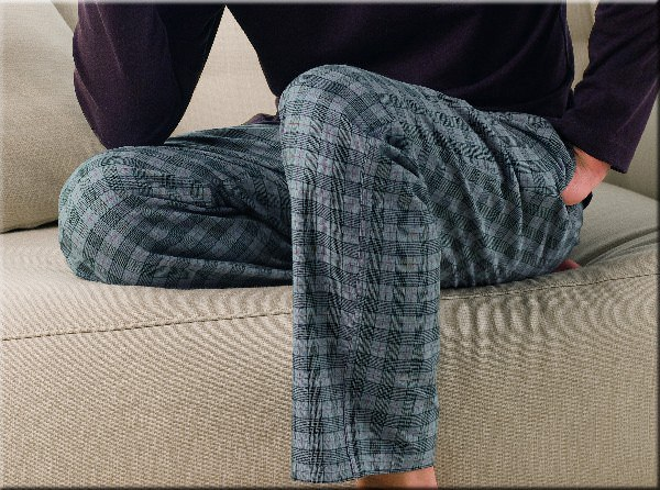 Long Johns Schiesser Mix & Relax Flanell