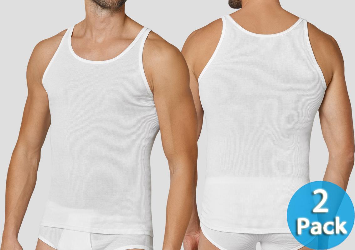 144402 Schiesser Herren langer Pyjama Schlafanzug Lang